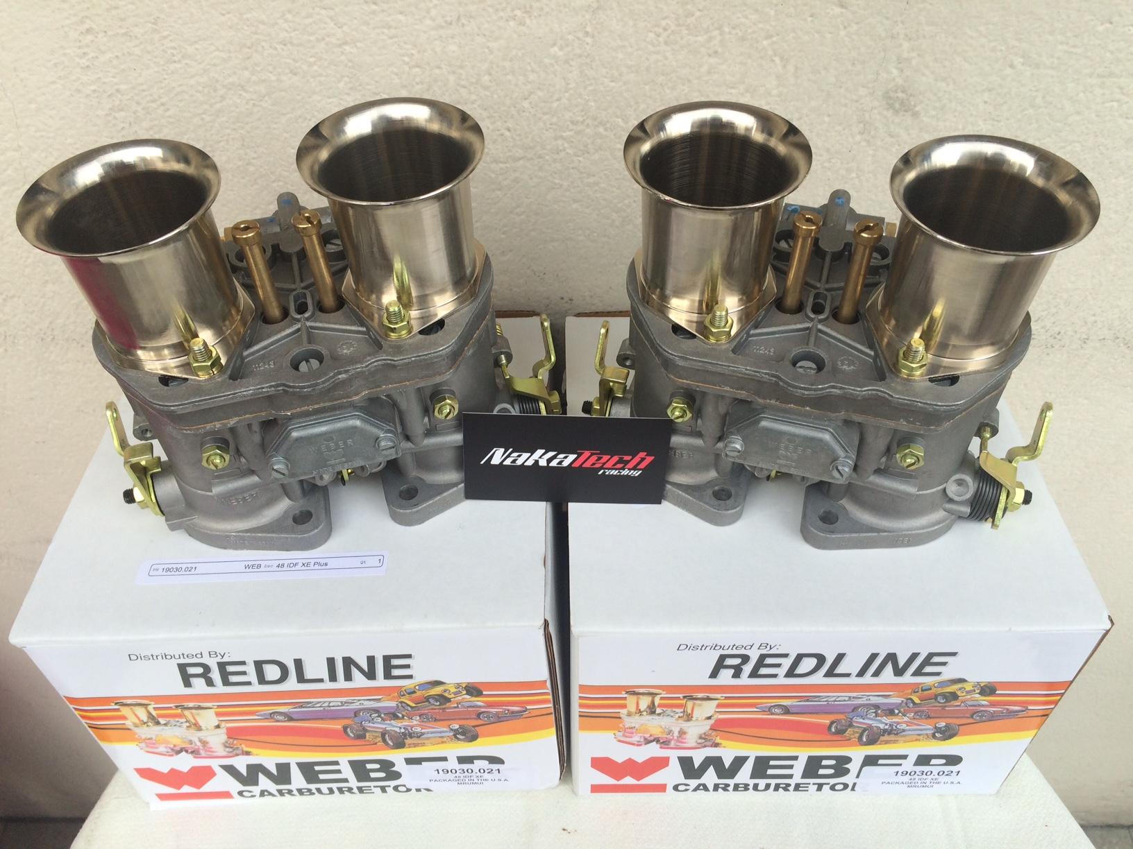 Carburadores Weber 48 idf