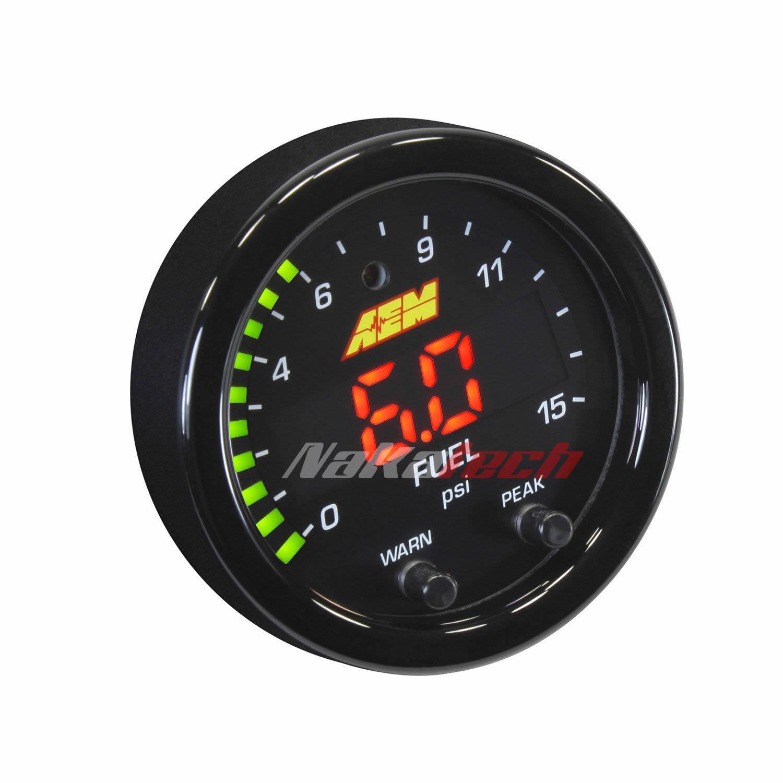 Reloj de Presion de Nafta Aem 30-0309