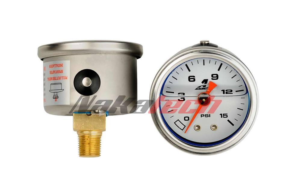 Reloj de Presion de Nafta Aeromotive