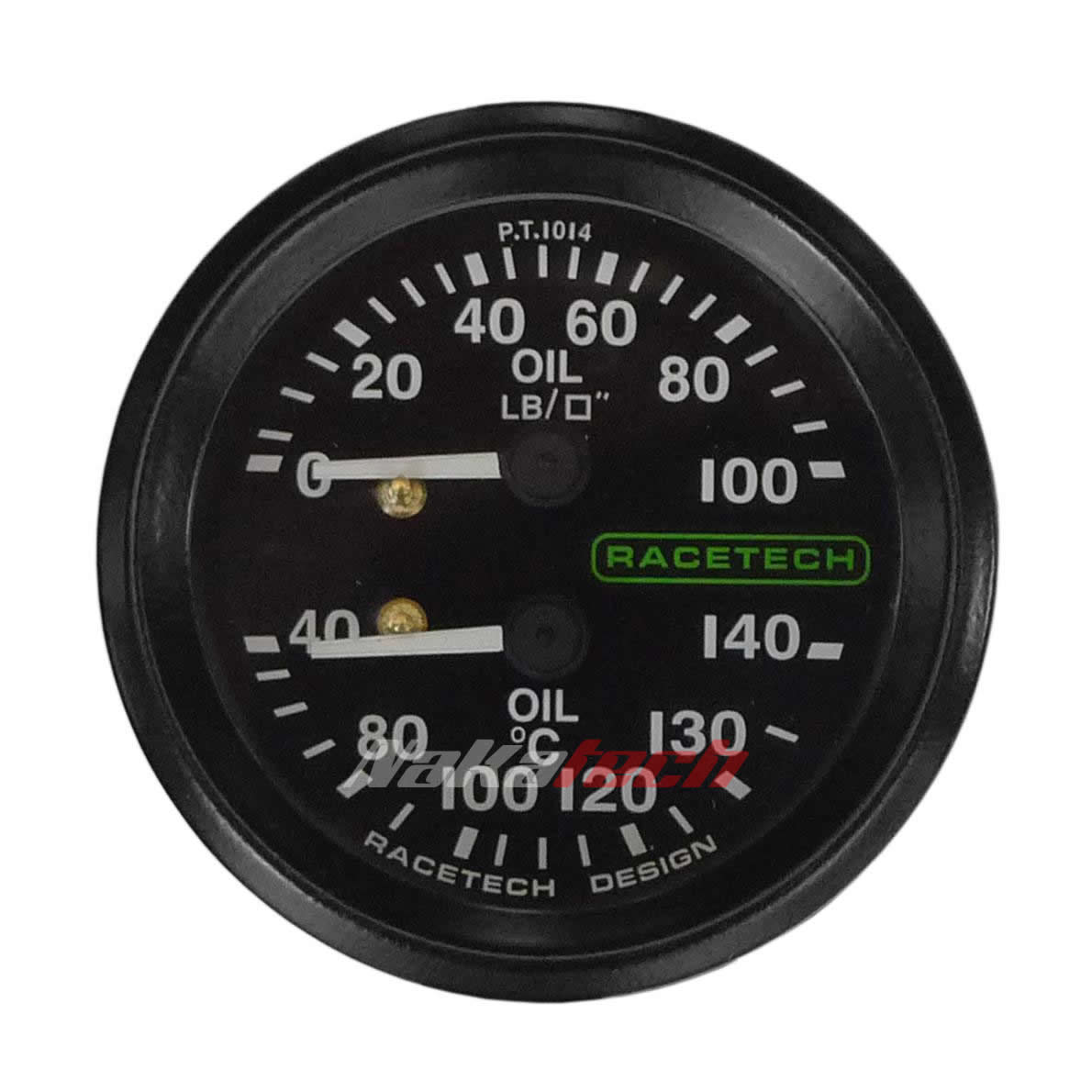 Presión y Temperatura de Aceite Racetech