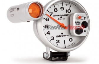Autometer Sport Comp Silver – Autometer #3911