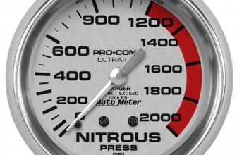 Presión de Nitro Autometer #4428 – 0-1600 LBS