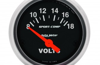 Voltímetro Autometer 52 MM – Autometer #3391